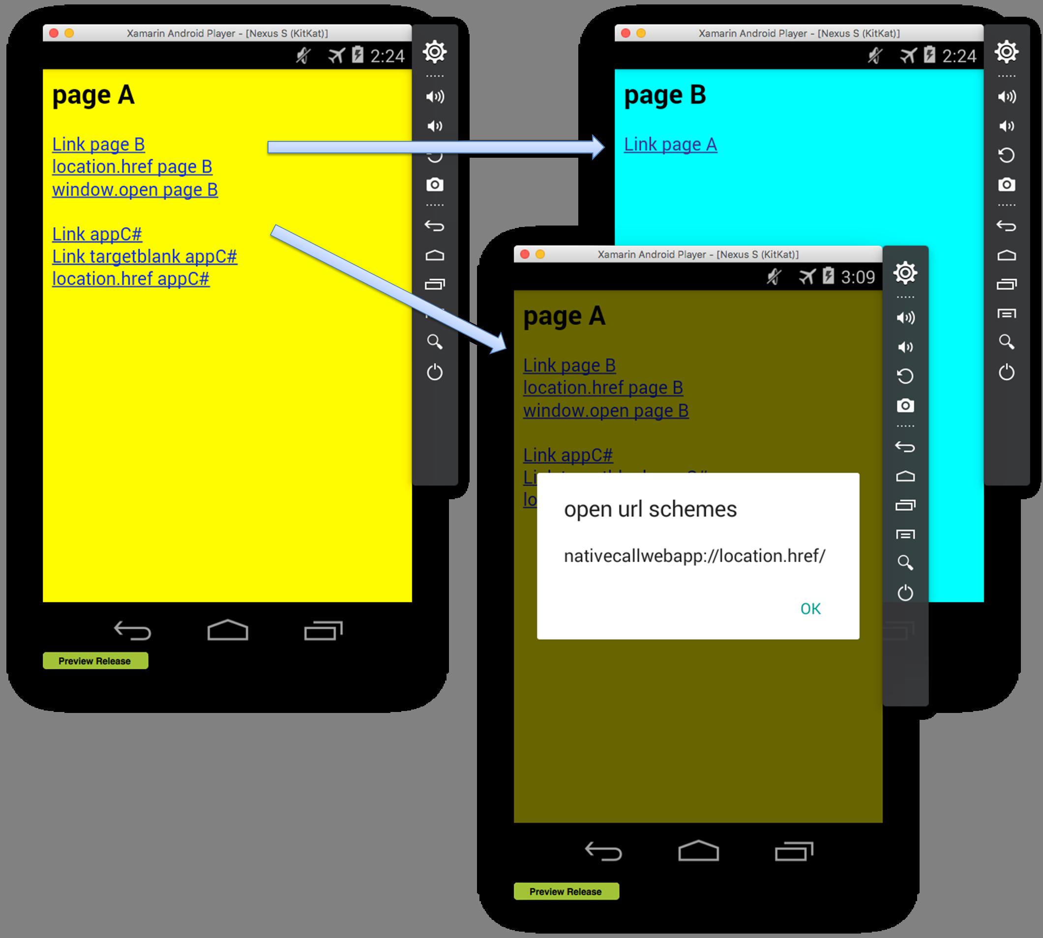 Xamarin FormsのWebアプリでJavascriptからC#を呼び出す方法   蒼い